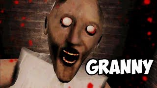 GRANNY - MOBILE HORROR GAME | PSYCHO KILLER GRANNY ON THE LOOSE!! | ESCAPE GRANNY OR DIE TRYING