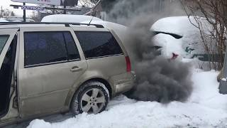 Tdi cold start -31°C straight pipe