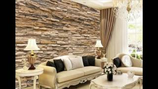 living 3d wallpapers background brick bedroom desktop artistic wall designs pvc vertical shape wide single indiamart animal india
