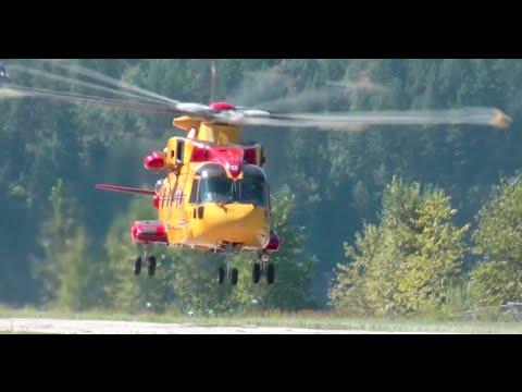 AgustaWestland CH-149 Cormorant (AW101) Landing and Takeoff