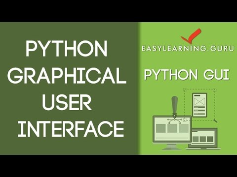 Introduction to Python Programming - Graphical User Interface