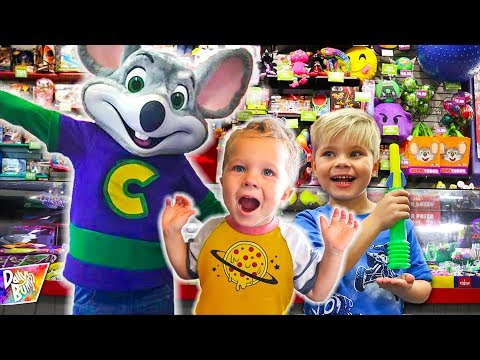 Finn's CHUCK-E-CHEESE Birthday Wish!