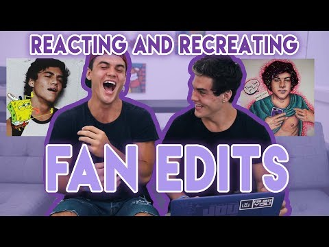 Reacting To and Re-Creating Fan Edits!!