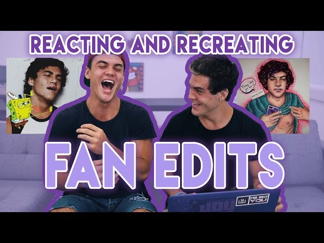 Reacting To and Re-Creating Fan Edits!! - YouTube