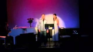 Sutton Foster & James Wesley sing WILD PARTY