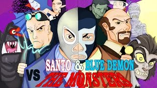 Film Renegado: Santo y Blue Demon contra los Mounstros