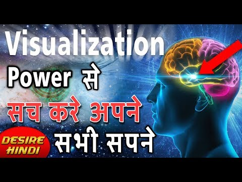 THE POWER OF CREATIVE VISUALIZATION IN HINDI |ANIMATED BOOK SUMMARY | LAW OF ATTRACTION DESIRE HINDI