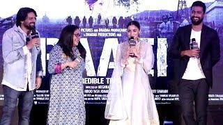 Ae Watan Song Launch | Raazi | Alia Bhatt, Vicky Kaushal, Meghna Gulzar | Full Video HD