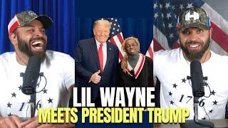 Lil Wayne Meets President Trump