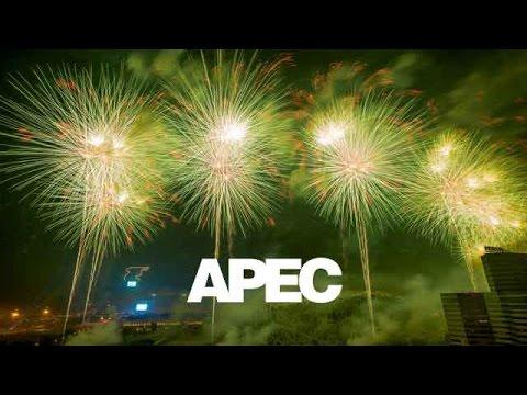 【APEC�1110 烟火表演 (高清版)