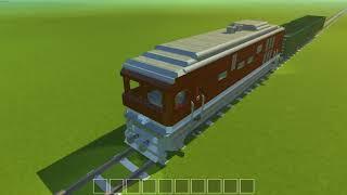Поезд Scrap mechanic Train