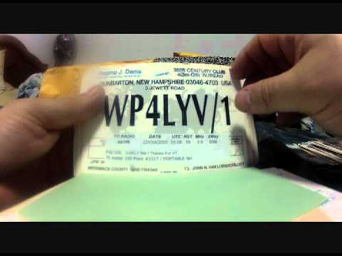 The Advantages of QSL Cards over LOTW & EQSL