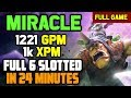 WOW! They continuously gank Miracle Mid and think can win but Miracle shows he's a BEAST