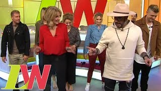 The Backstreet Boys Give the Loose Women a Dance Lesson | Loose Women
