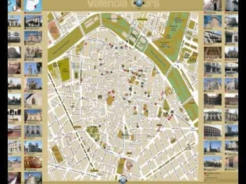 Audioguide to Valencia. Free mp3 Guide to Valencia. Valencia Tourguide.wmv