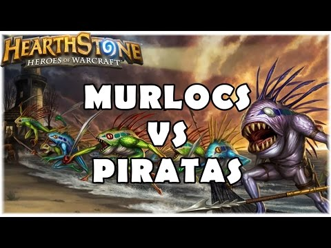 HEARTHSTONE - MURLOCS DO 3K Vs PIRATAS DO DBRAZ!