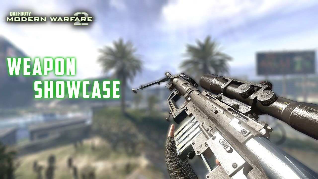 Call Of Duty Modern Warfare 2 All Weapons Showcase Multiplayer