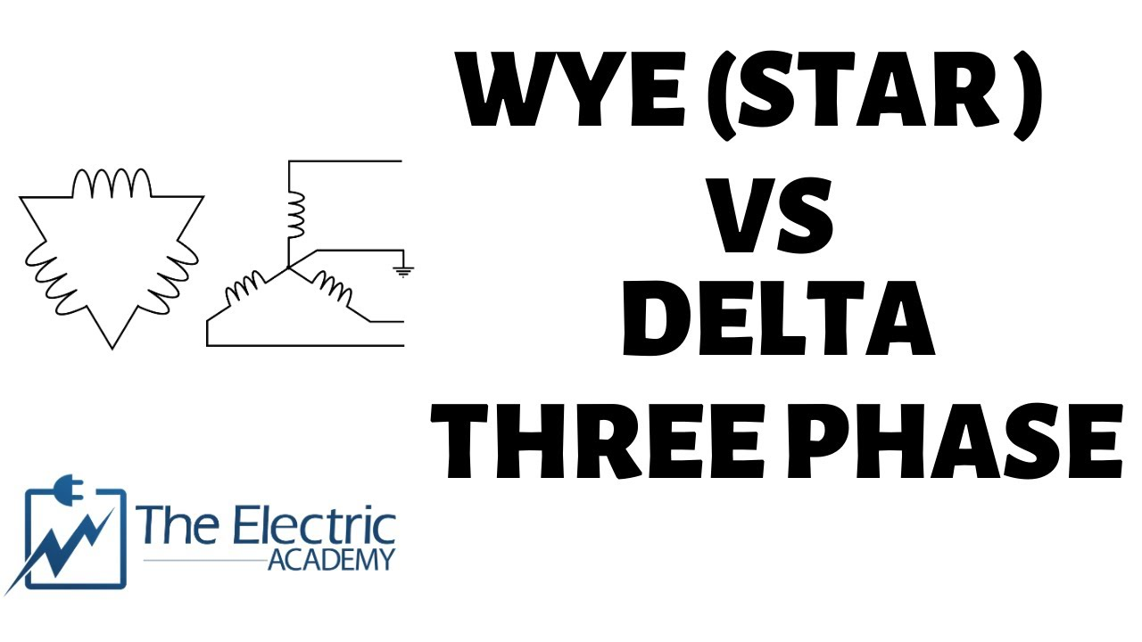 Wye and Delta three phase configuration ( A brief overview