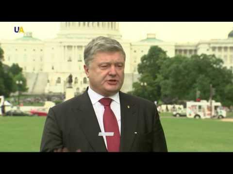 Poroshenko: US-Ukraine defence agreements to be signed in