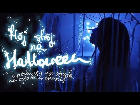 Mój strój na Halloween ✂ Pomysły na stroje na ostatnią chwilę ✂ Olsikowa