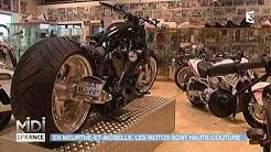 VU D'ICI : En Meurthe-et-Moselle, les motos sont haute-couture
