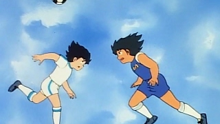Captain Tsubasa attack skill VS Kojiro Hyuga