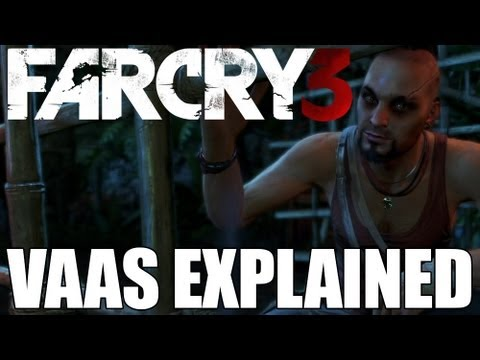 Far Cry 3 Vaas Montenegro Explained by Lead Writer Jeffrey Yohalem - Character Profile