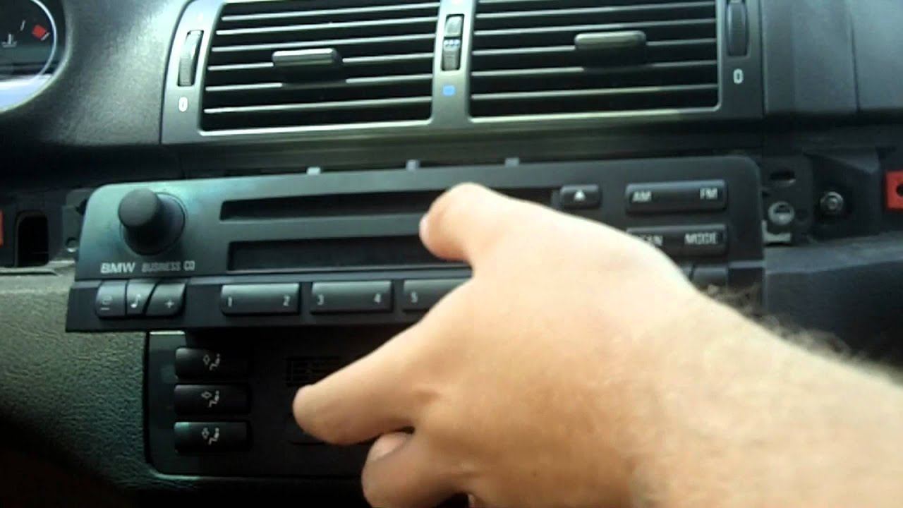 medium resolution of 2000 bmw 323i radio