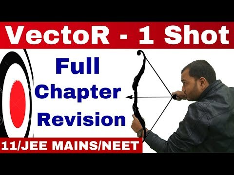 VeCtOR - One Shot - Complete Chapter - Vector Full Chapter Revision II Class 11 /JEE MAINS/NEET