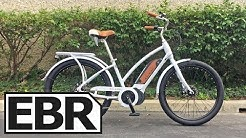 Raleigh Retroglide iE Video Review - $2.3k Cruiser Electric Bicycle with Fenders and Rear Rack