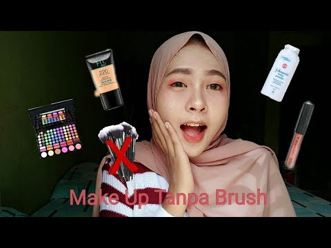 Make Up Rata Rata Di Bawah 50k | Make Up Tanpa Brush | Untuk Pemula Bangettt