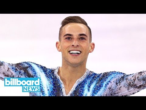 U.S. Olympic Skater Adam Rippon Performs to Coldplay, Gives Hilarious Interviews | Billboard News