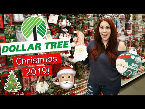 Shop With Me! | DOLLAR TREE CHRISTMAS 2019