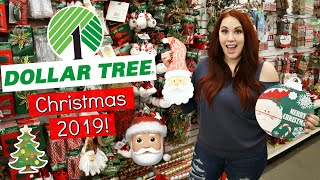 WHAT YOU SHOULD AND SHOULDN'T BUY AT DOLLAR TREE FOR CHRISTMAS 2019! SHOP WITH ME + DIYS