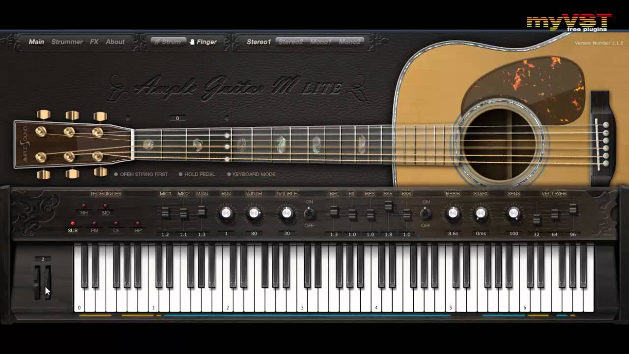 ample guitar m lite free vst myvst demo youtube. Black Bedroom Furniture Sets. Home Design Ideas