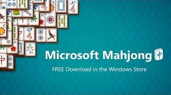 Microsoft Mahjong Windows 10 Game Trailer