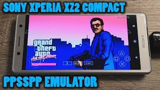 Sony Xperia XZ2 Compact - GTA: Vice City Stories - PPSSPP v1.9.4 - Test