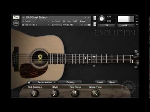 Evolution Guitar Engine - Pick Position (LEGACY)