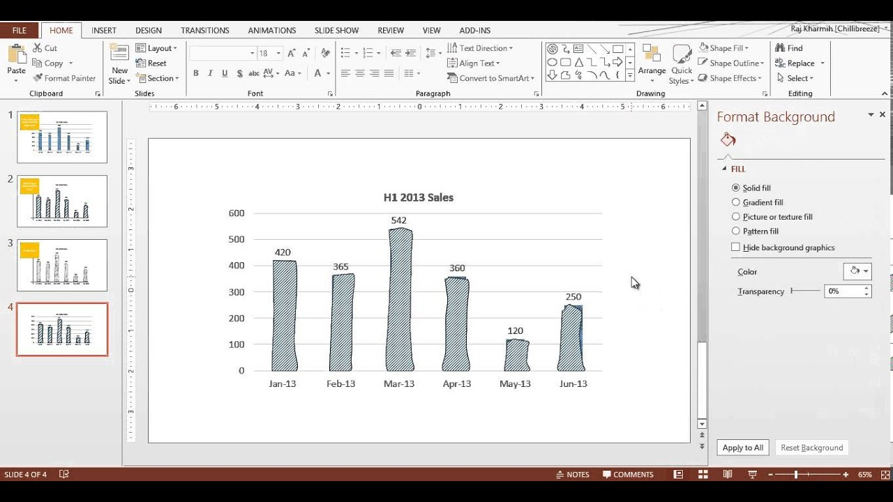 how to make a billboard on powerpoint