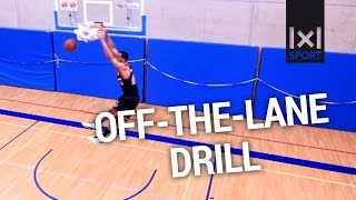 Learn effective Basketball Big Man Low Post Moves - OFF THE LANE Basketball Drill