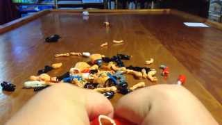 Fake Wrestling Toys Review Part 2 - DESTRUCTION