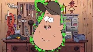Gravity Falls: Fixin' it with Soos - Golf Cart | Official Disney Channel Africa