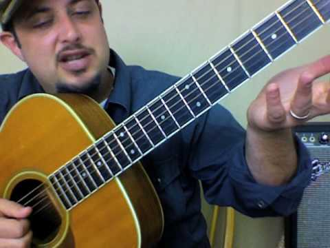 Robin Thicke - Lost Without You How Does it Feel - Jazz chord guitar lessons