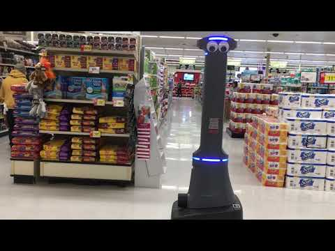 As robots invade the grocery aisle, a promising but