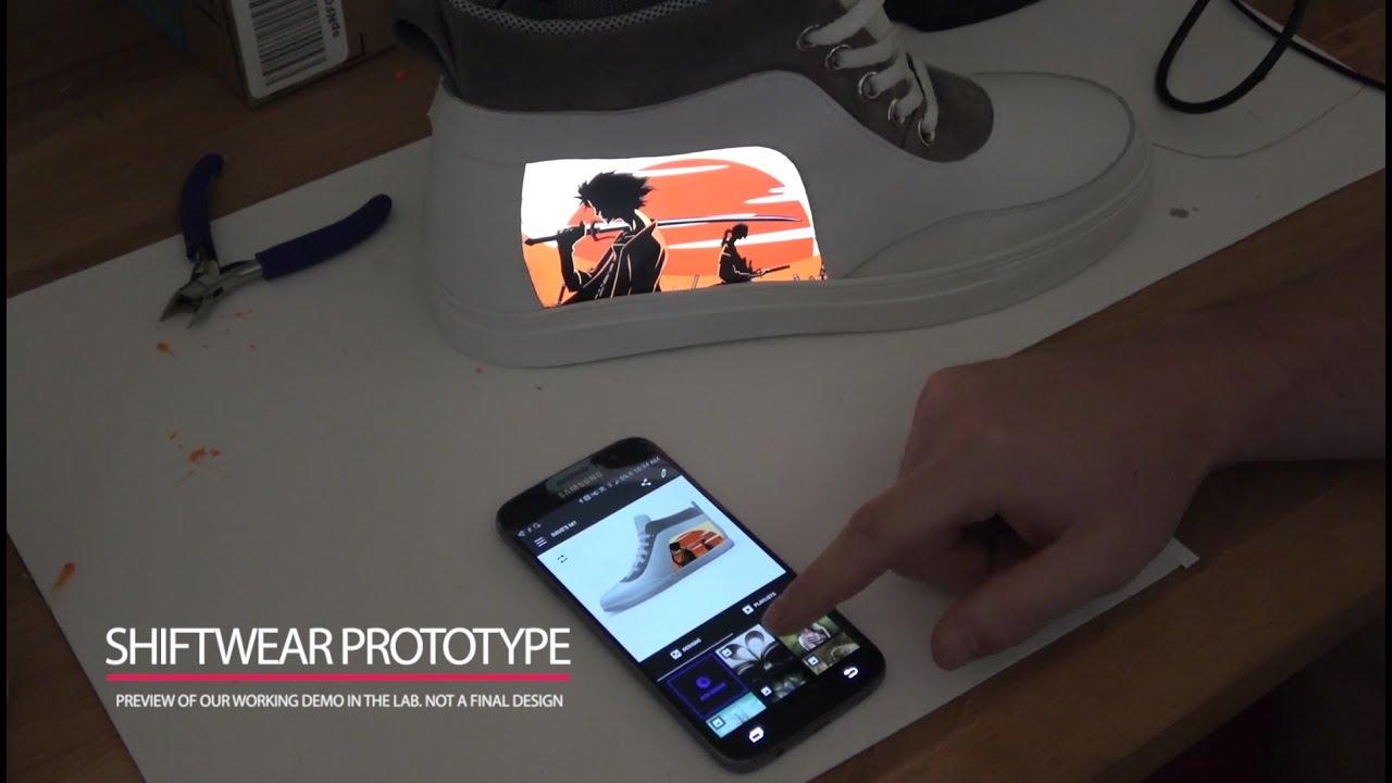Meet Shiftwear: App \u0026 Prototype - YouTube