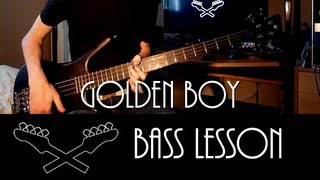 Golden Boy - Primus [Bass Lesson]