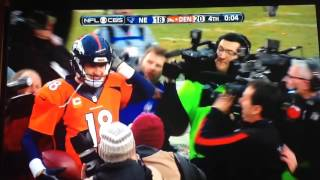 Peyton Manning Kneels to Win Game and Ticket to Super Bowl 50