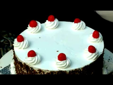 How To Make TASTY Black Forest Cake In Tamil - Joy Of Baking-black Forest Gateau-food Fusion Recipes