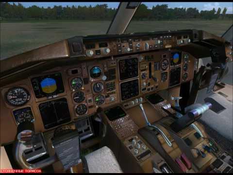 Boeing 757-200 VP-BAS Взлет из Реуса