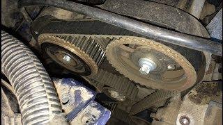 Peugeot 406 - Замена ГРМ и Помпы(, 2013-12-23T16:48:41.000Z)